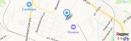 Центр Барной Эстетики-Дальний Восток на карте Хабаровска