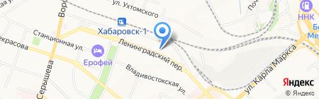 Территориальная избирательная комиссия на карте Хабаровска