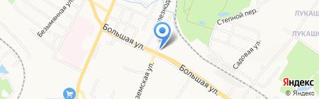 Brass DV на карте Хабаровска