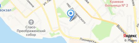 Краевой центр психолого-медико-социального сопровождения на карте Хабаровска