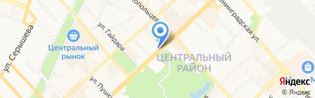 Coffe Time на карте Хабаровска