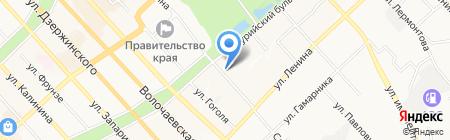ГЛОБАЛ ПРОМ на карте Хабаровска