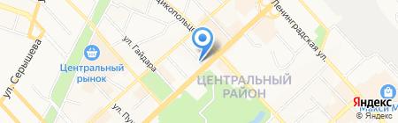 Легион Тим на карте Хабаровска