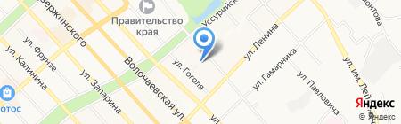 Кабинет SPA & Эпиляции на карте Хабаровска