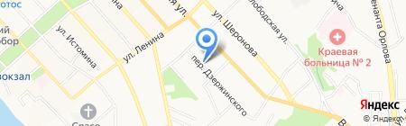 АНИТ на карте Хабаровска