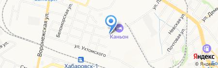 Ренессанс ДВ на карте Хабаровска