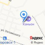 НТК на карте Хабаровска