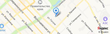 Лакшми на карте Хабаровска