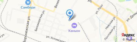 ТОРГОВЫЙ ДОМ ИНСЕМАКС ТРЕЙД на карте Хабаровска