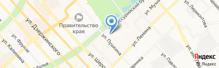 Crystal на карте Хабаровска