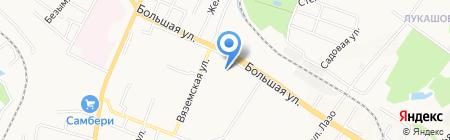 Детская городская поликлиника №24 на карте Хабаровска