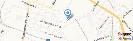 ДАРЫ КУБАНИ на карте Хабаровска