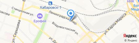 Союз на карте Хабаровска