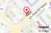 Схема проезда до компании ВТБ Страхование в Хабаровске