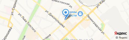 Компарекс на карте Хабаровска