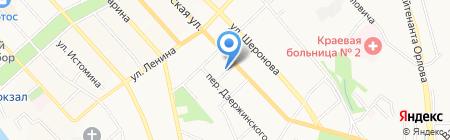 Хайхе на карте Хабаровска