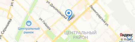 Tempo на карте Хабаровска