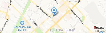 Чистый дом на карте Хабаровска