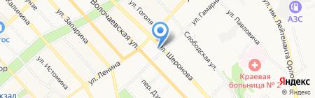 Дальневосточный окружной военный суд на карте Хабаровска