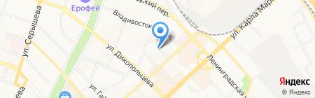 Парус-ДВ на карте Хабаровска
