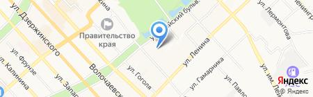Портал Хабаровск на карте Хабаровска