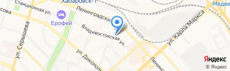 Алтай на карте Хабаровска