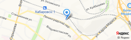 Хабаровская Епархия Русской Православной Церкви на карте Хабаровска