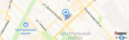 PodZemka на карте Хабаровска