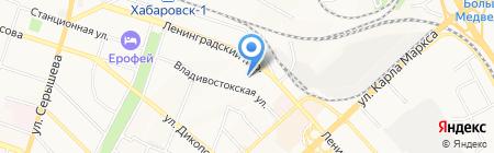 Новостройки на карте Хабаровска