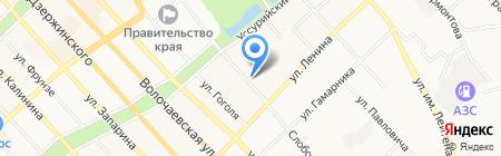 Vlas hair-studio на карте Хабаровска