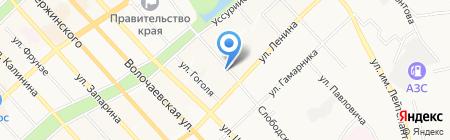 Клинический центр восстановительной медицины и реабилитации на карте Хабаровска