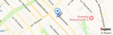 Toureast на карте Хабаровска