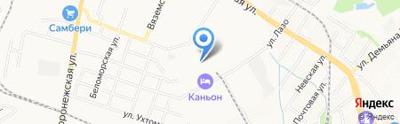 ДизельДепо на карте Хабаровска