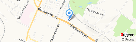 Империя Сервис Авто на карте Хабаровска