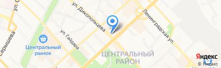 Ле Грифф на карте Хабаровска