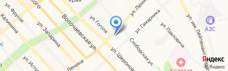 Военная прокуратура Хабаровского гарнизона на карте Хабаровска