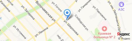 Салон цветов на карте Хабаровска