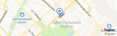 Финансовый департамент на карте Хабаровска