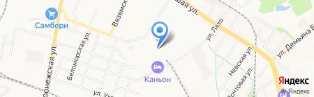 ДТК на карте Хабаровска