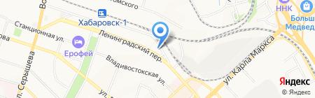 Комфорт ДВ на карте Хабаровска