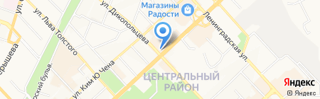 Manhatten на карте Хабаровска