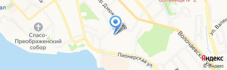 Детский сад №209 на карте Хабаровска