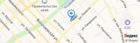 Мастер Билл на карте Хабаровска