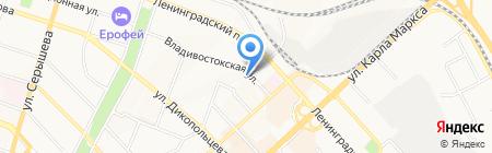 Кредо на карте Хабаровска