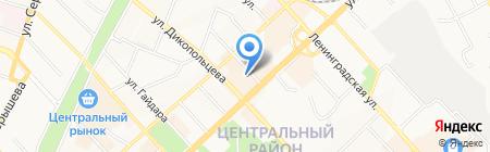 Бьюти Life на карте Хабаровска