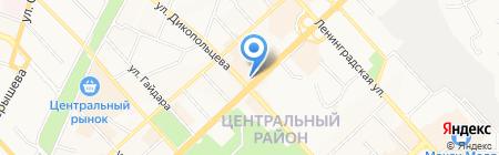 Евросеть на карте Хабаровска