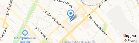 Хабаровская бизнес-школа на карте Хабаровска