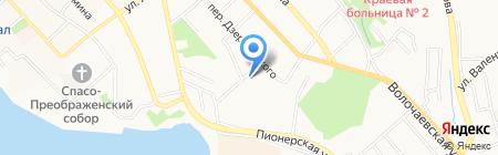 Межрегиональная дирекция по дорожному строительству в Дальневосточном регионе России на карте Хабаровска