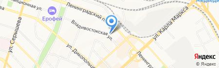 Лидер тур на карте Хабаровска