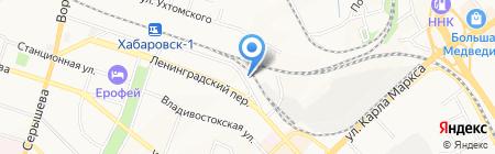 Бизнес Партнер на карте Хабаровска